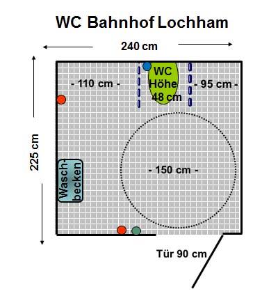 Wc S Bahnhof Lochham In Grafelfing Grafelfing Club Behinderter