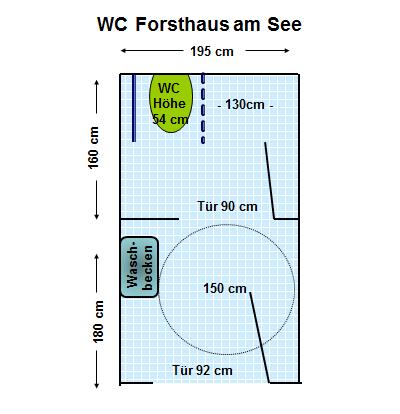 Wc Forsthaus Am See Club Behinderter Und Ihrer Freunde München